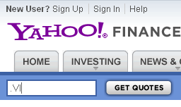 Yahoo Stock Quote Download Free Data From Yahoo Finance